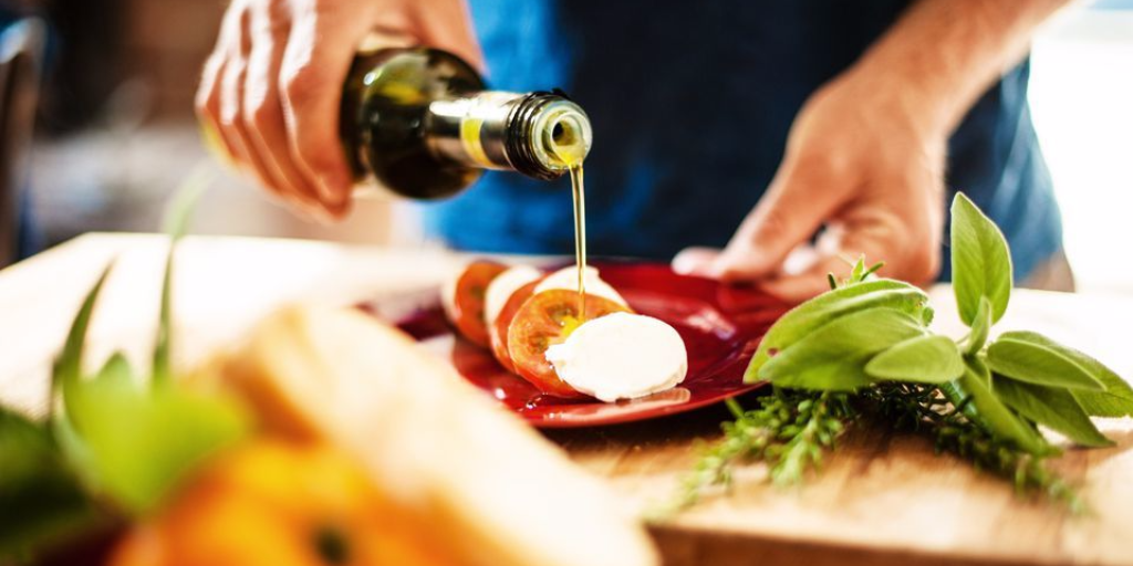 limpiar las manchas de aceite de cocina