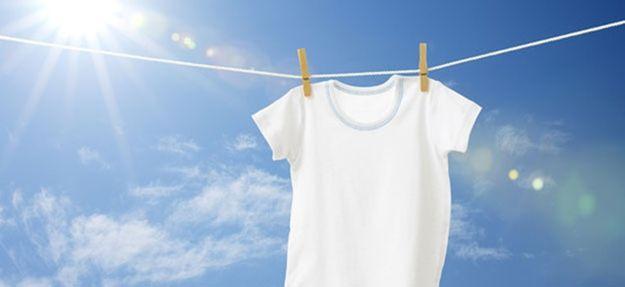 Cómo tener ropa blanca sin deterioro por uso de cloro