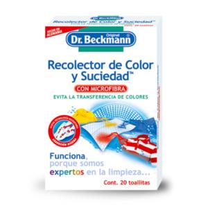 Recolector color y suciedad microfibra