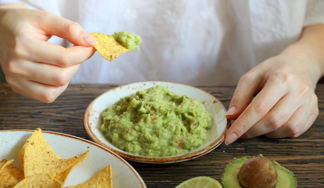 8 pasos para limpiar manchas de guacamole