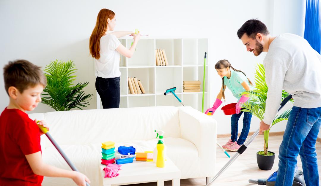 tener una casa más limpia