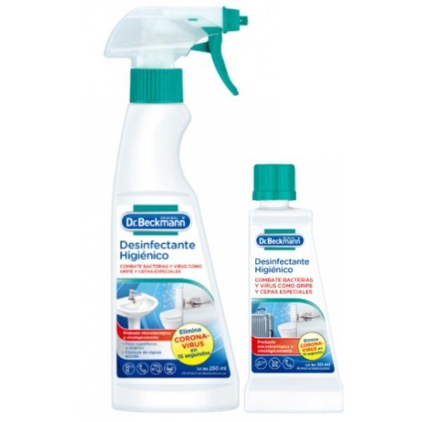Desinfectante higenico covid