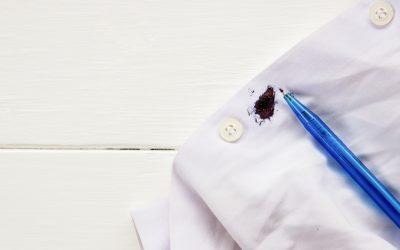4 Pasos para eliminar manchas de bolígrafo