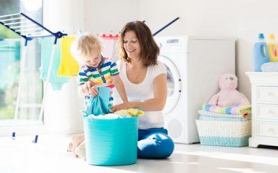 Cómo ayudar a mamá a lavar la ropa